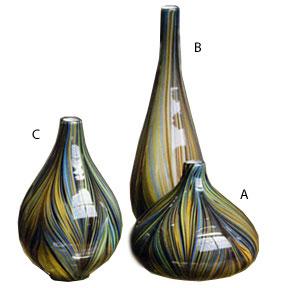 pucci blue vases