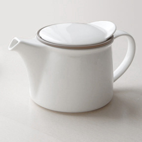 Out Of Gray Kinto Modern Teapot Brim Porcelain Hip Luxury Tableware