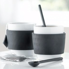 Out Of Gray Steel Function Milano Coffee Cup Set Modern Tea Coffee Porcela